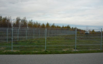 Gdzie najczęściej stosuje się ogrodzenie panelowe ?